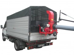 Truckloader with engine Honda GX390 OHV