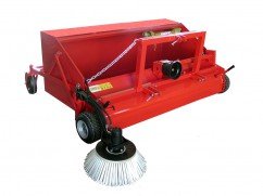 Collection brush for PTO tractor - working width 180 cm