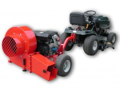 Trailed blower with engine Honda GX390 OHV - 25 km/h