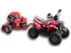 Trailed blower with engine Honda GX630 OHV - 25 km/h