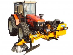 Weed brush tractor PTO 75 cm