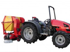 Vacuums with collector for PTO tractor - 120 cm - 650 liter