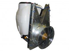 Mistblower 200 liter - pump AR503 PTO - tower fan inox