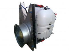 Mistblower 400 liter - pump AR813 PTO - tower fan inox