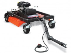 Trailled brush mower with enige Briggs and Stratton 540 cm³ - 112 cm