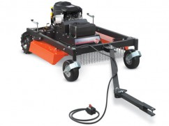 Trailled brush mower with engine Briggs and Stratton 656 cm³ - 112 cm