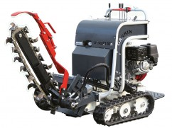 Self-propelled trencher TRACTION with Honda GX390 engine - 13x60 cm