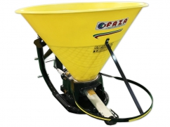 Pendulum fertilizer spreader 400 liter for PTO tractor