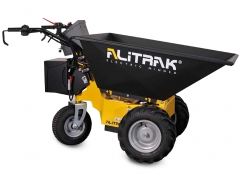 Electric dumper DT-500 E with 3 wheels and a load capacity of 300 kg