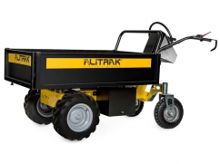 Electric dumper DT-300L E with 4 wheels and a load capacity of 300 kg