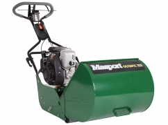 Reelmower 40 cm with engine Honda GC160 OHC - with rubber rear roller