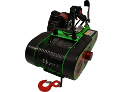 Forestry winch VF155 AUTOMATIC ULTRALIGHT - 54 cm³ - inclusive cable 80 m