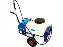 Sprayer on wheels - pump 12 Volt - 50 liter