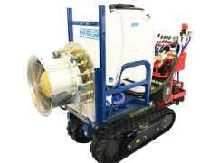 Sprayer with air atomization for mini transporter - 200 liter - pump AR403