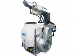 Mistblower with orientable atomizer tube 200 liter - pump AR503 PTO