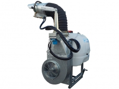 Mistblower with orientable atomizer tube 400 liter - pump AR813 PTO