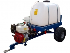 2-wheel tow-behind sprayer 300 liters - pump AR30 - engine Honda GX160 OHV