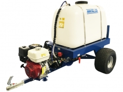 2-wheel tow-behind sprayer 400 liters - pump AR30 - engine Honda GX160 OHV