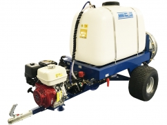 Tow-behind sprayer with atomizer 400 liters - pump AR403 - engine Honda GX390 OHV