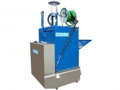 Hot water weed control machine 500 liter - capacity 90 kW - tractor 3-point