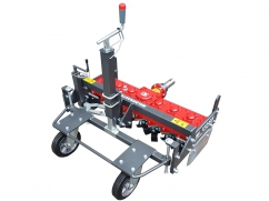 Weed milling machine for PTO drive two-wheel tractor - working width 85 cm - forward operating direction