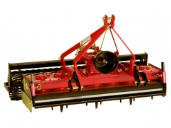Power harrow 140 cm - roller 150 cm - for tractor