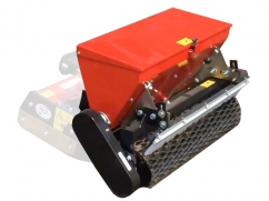 Seeder 75 cm - roller 77 cm - capacity 37 liters - for two-wheel tractor