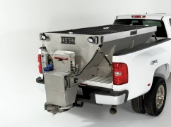 Salt spreader model STRIKER 7' - 12 Volt - 1.400 kg - stainless steel