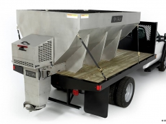 Salt spreader model STRIKER 8' - 12 Volt - 1.900 kg - stainless steel