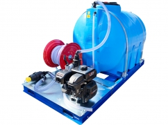Irrigation group 1000 liter - pump 120 l/min - 20 bar - engine Subaru