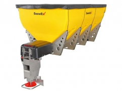 Salt spreader model HELIXX-11780 - 12 Volt - 1415 kg