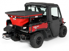 Salt spreader model TORNADO UTV - 12 Volt - 400 kg