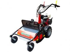 Flail mower 60 cm with engine Honda GX270 OHV - 2 speeds forward + 1 reverse
