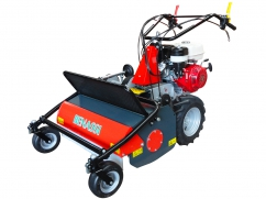 Flail mower 75 cm with engine Honda GX270 OHV - 2 speeds forward + 1 reverse