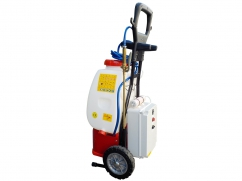 Ozone disinfection machine on wheels - pump 12 Volt - tank capacity 20 liters