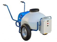 Ozone disinfection machine on wheels - pump 12 Volt - tank capacity 70 liters