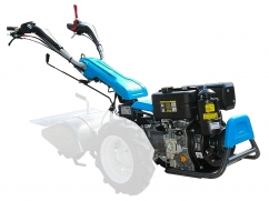 Motocultor 413S with diesel engine Emak K9000 HD elec. start - basic machine without wheels and tiller box