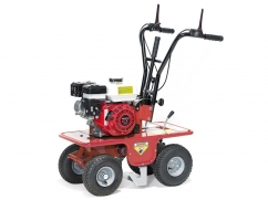 Green turf cutter 39 cm with engine Honda GX200 OHV - 2 speeds forward