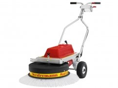 Radial sweeping machine WR 870 ACCU PRO - 12 V DC - working width 870 mm