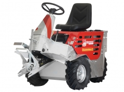 Multi-functional ride-on unit CM 2 HYDRO B&S Vanguard OHV - electric start - version with hydraulics