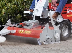 Axial brush AX 900 - working width 900 mm - poly (PPN) brush