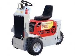 Multi-functional ride-on unit CM 2 PRO B&S Vanguard OHV - version with hydraulics and hydraulic lifting device