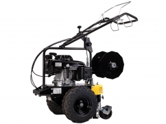 Self-propelled cable laying machine with Honda GXV160 OHV engine