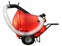 Vacuum collector on 2 wheels - 500 liters - ø 125 mm with - GXH50 4-stroke engine