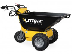 Electric dumper MT-500 S with 3 wheels and a load capacity of 400 kg
