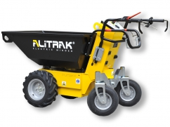 Electric dumper MT-500 P with 4 wheels and a load capacity of 550 kg