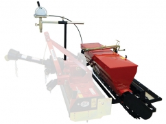 Seeder for MTZ120 - roller 116 cm - capacity 60 liters - for tractor