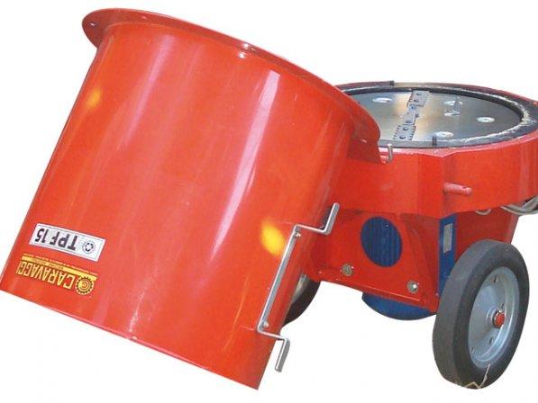 ca tpf15 e - composteur tpf 15 avec moteur  u00e9lectrique 220  380 v -3 phase