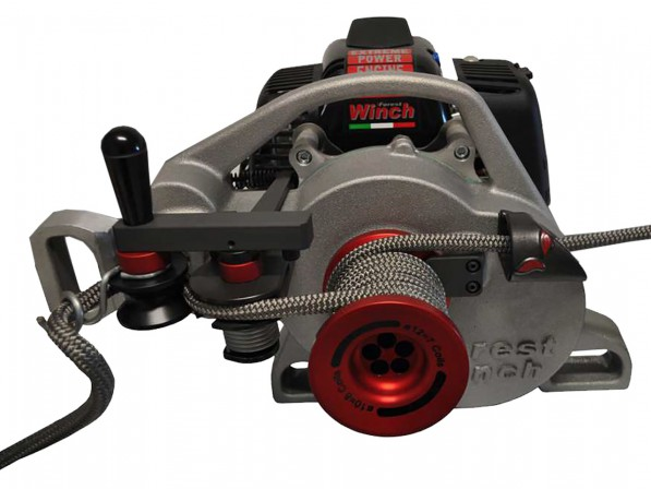 FO VF105 RED IRON - Portable forestry winch VF105 RED IRON