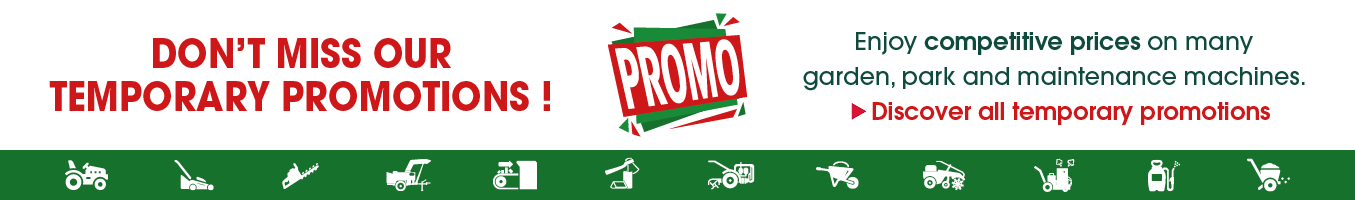 Don't miss our temporary promotions!